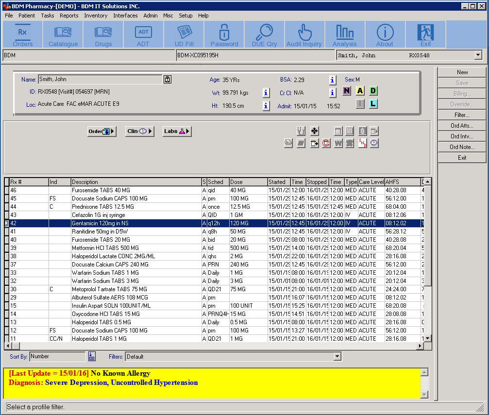 BDM Pharmacy Software - BDM IT Solutions